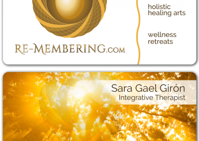 re-membering-business-cards