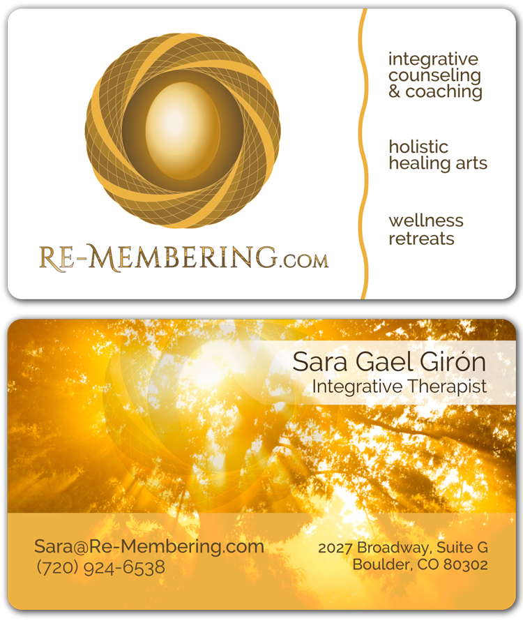 Re-Membering Business Card Design