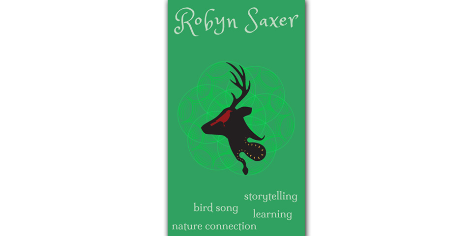 Robyn Saxer Business Card